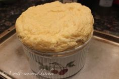 Cheese Grits Souffle.. oh my goodness.. i can do some damage to a bowl of creamy cheesy grits!  ummm yum