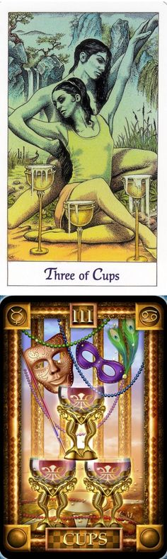 Three of Cups: merriment and herd mentality (reverse). Cosmic Tarot deck and Dreams Tarot deck: tarot basics, yes no answer and tarot vape. Best 2017 magic mirror and magic the gathering.