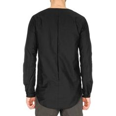 CYPRESS Invert Pleat Pullover Shirt / CS Black