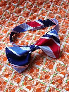 Little boys bow ties and regular ties tutorials
