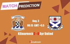Kilmarnock vs Ayr United