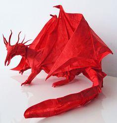 Ancient Dragon by Kamiya Satoshi, folded by me