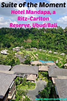 Ubud, Bali: Hotel Mandapa by Ritz-Carlton Reserve - suite of the moment,  second post of a new series of mine where I describe memorable hotel suites & rooms, here a perfect blend of contemporary design and local architecture (hotel at a glance, Mandapa Suite in detail, overall)