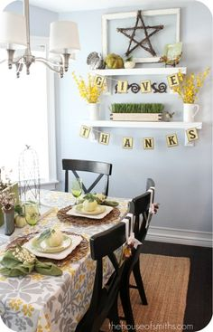 Thanksgiving Decor Inspiration