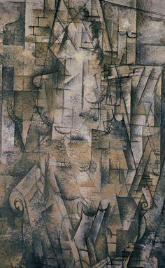 FEMME LISANT, 1911  - Georges Braque