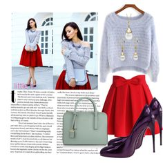 How To Wear Celebrate Valentine's Day with Little h Jewelry Outfit Idea 2017 - Fashion Trends Ready To Wear For Plus Size, Curvy Women Over 20, 30, 40, 50