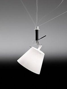 Da + Dort by Ingo Maurer Home Lighting Design, Lighting Concepts, Lampe Ballon, Johnny B, Floating Table, Broken Egg, Ingo Maurer, Can Lights, Spock