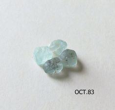 Blue Crystals, Crystals And Gemstones, Natural Crystals, Loose Gemstones, Natural Gemstones, Aquamarine Crystal, Amethyst Quartz, Emerald Gemstone, Faceted Crystal