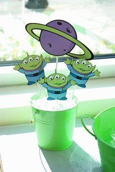 "Photo 1 of 38: Toy Story Buzz & Woody / Birthday ""Toy Story Buzz & Woody Inspired 3rd Birthday""   Catch My Party"