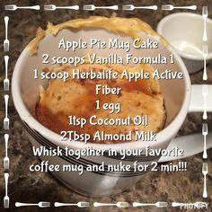Vanilla formula 1, herbalife apple active fiber can be purchased at www.goherbalife.com/angelahartzell/en-us