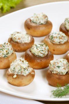 Artichoke Stuffed Mushrooms Recipe