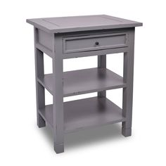 Newton Side Table - Dark Grey at the Foundary