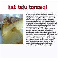 Kek keju karamel