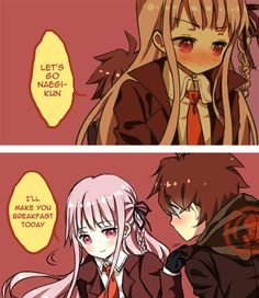 naegi x kirigiri | ༻ Dangan Ronpa ༺ | Pinterest | Search