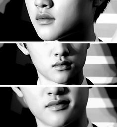 Kyungsoo's lips deserve their own fandom...More gorgeous than most people, no matter who or what they are. That's reality!