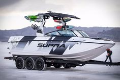Supra Boats offering best Wakeboard boats For Sale in Australia. Supra is always looking to better their performance behind the boat. Ski Boats, Cool Boats, Wakeboard Boats For Sale, Moomba Boats, Supra Boats, Boat Wraps, Deck Boat, Ken Block, Ford Raptor