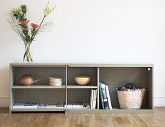 Chris' office? Shelves, Storage, Home Decor, Purse Storage, Shelving, Decoration Home, Room Decor, Larger, Shelving Units