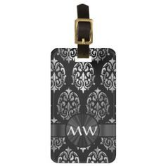 ==> reviews          	Silver gray and black damask tag for bags           	Silver gray and black damask tag for bags We have the best promotion for you and if you are interested in the related item or need more information reviews from the x customer who are own of them before please follow the ...Cleck Hot Deals >>> http://www.zazzle.com/silver_gray_and_black_damask_tag_for_bags-256239316917427745?rf=238627982471231924&zbar=1&tc=terrest