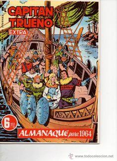 El Capitán Trueno Almanaque 1964 Reedición Bruguera