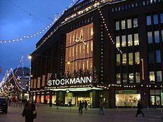 Stockmann, Helsinki, Finland.