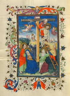 Deposition | Hours of Catherine of Cleves | Illuminated Manuscript | ca. 1440 | The Morgan Library & Museum
