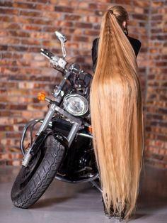 Silky Smooth Hair, Long Blond, Glossy Hair, Extreme Hair, Beautiful Long Hair, Gorgeous Hair, Super Long Hair, Cut My Hair, Different Hairstyles