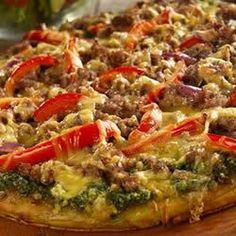 Smoked Sausage Pizza Allrecipes.com