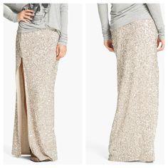 //haute hippie • maxi skirt