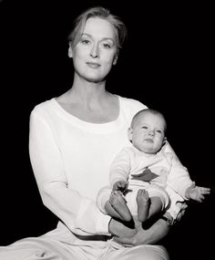 Meryll Streep has three grown daughters Grace, Louisa and Mamie. Her last daughter was born when Meryl was 41.