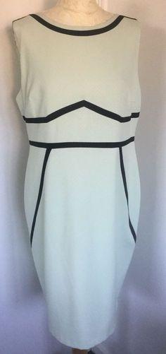 e2bbccbed8b Dorothy Perkins Womens Size 20 Green Dress Sleeveless Summer Smart Career   DorothyPerkins  ShiftDress