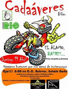 "Mtb Cadaáveres - Bike : Próxima ruta ""El Álamo - Batres"""