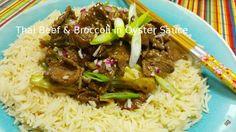 Thai beef & broccoli