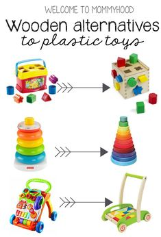 alternatives to plastic toys for baby Gift guide for babies: Wooden alternatives to plastic toys for babiesGift guide for babies: Wooden alternatives to plastic toys for babies Wooden Toys For Toddlers, Toddler Toys, Kids Toys, Toddler Girls, Making Wooden Toys, Montessori Toys, Montessori Toddler, Montessori Bedroom, Eco Friendly Toys
