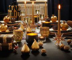 Stern Kerzenhalter, Golden Shadow - Geschenke - Swarovski Online Shop