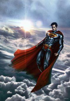 SUPERMAN by WhileyDunsmoreArt