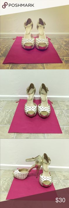 SALERock & Republic Brand new, never been used. Studded, open toe pumps. Rock & Republic Shoes Heels