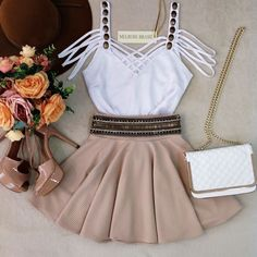 moda, look, and outfit image Girly Outfits, Trendy Outfits, Dress Outfits, Cool Outfits, Fashion Outfits, Womens Fashion, Dress Clothes, Cute Dresses, Short Dresses