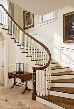 beautiful staircase detail