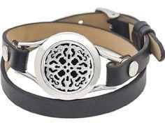 Bracelet medallion stainless steel pendant Aromatherapy