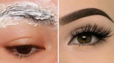 5 Home Remedies To Grow Thick Eyebrows Naturally - Beautypro Club Thicken Eyebrows Naturally, How To Thicken Eyebrows, How To Grow Eyebrows, Bad Eyebrows, Thick Eyebrows, Best Eyebrow Makeup, Best Eyebrow Products, Eyebrow Tips, Elf Make Up