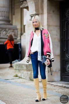 chanel paris fashion week street style - Google Search
