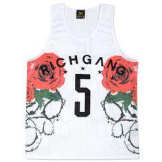 77266d1f40dd4 Rich Gang Roses Among Thorns Tank Top Trunks