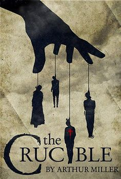 "& Drama Watch full-Movie The Crucible Online [HD] FREE. The movie is centered around the Salem Massachusetts witch trials of The movie is based on the play ""The Crucible"" by Arthur Miller. He also wrote the screen play adaptation. Ex Libris, Book Cover Design, Book Design, Great Books, My Books, Play Poster, Salem Witch Trials, Book Posters, Train Posters"