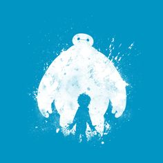 Check out this awesome 'Baymax+-+Hiro' design on @TeePublic!