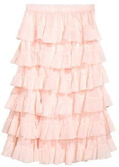 H&M Tiered Skirt #affiliate
