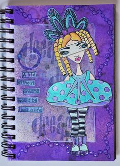 Creating Texture On Journal Pages And More