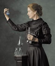 Marie Curie: Awesome representative of International Women's Day.