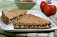Three Grilled Cheese Recipes (Hungry Girl) -- Make with Joseph's Pita for even lower carbs/calories.