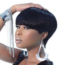 Super fly short hairstyles for relaxed hair textures. To learn how to grow your hair longer click here - http://blackhair.cc/1jSY2ux