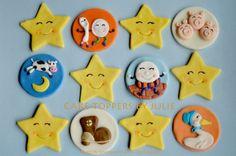12 Regular or Vintage Nursery Rhyme Cupcake Toppers